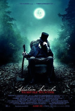 "I am watching Abraham Lincoln: Vampire Hunter                   ""Getting ready to see some Ax kicking! :D ""                                            433 others are also watching                       Abraham Lincoln: Vampire Hunter on GetGlue.com"