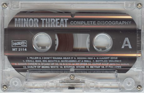 Minor Threat Tape