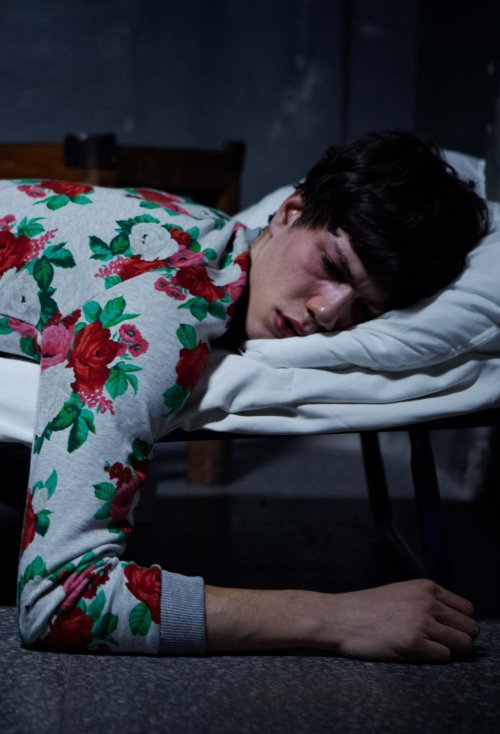 Simone Nobili by Luca Finotti for Dust #3