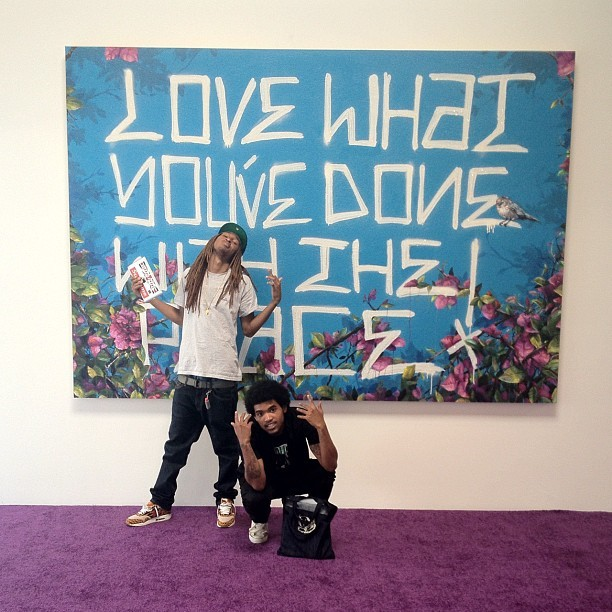 Art thugs #patrickmartinez  (Taken with Instagram)