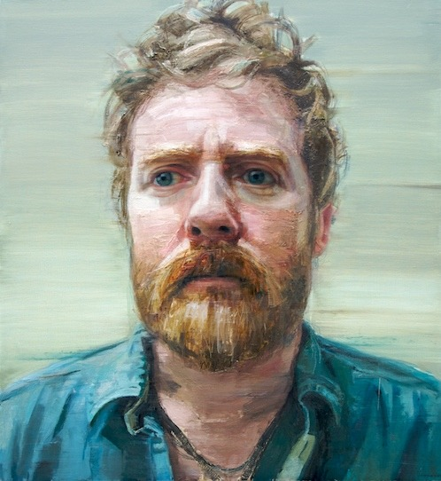 """Thread the Light"" Portrait of Glen Hansard by Colin Davidson (for Glen Hansard's Rhythm & Repose album art-the album itself is as fantastic as this portrait)"