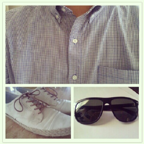 #wdywt #americanapparel #raybans  (Taken with Instagram)