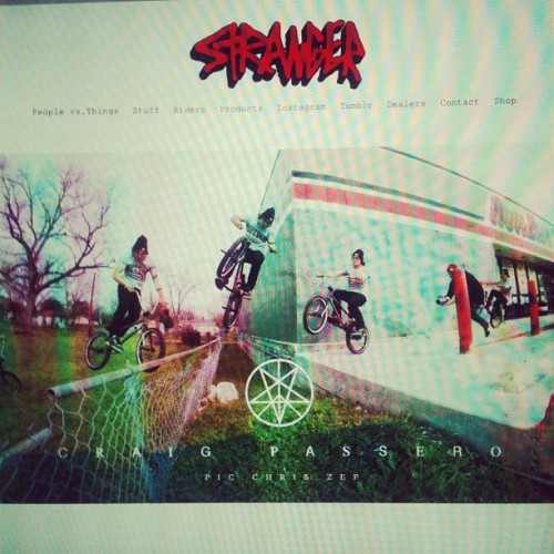 strangerbmx:  New sequence of @whammo up at www.strangerbmx.com (Taken with Instagram)