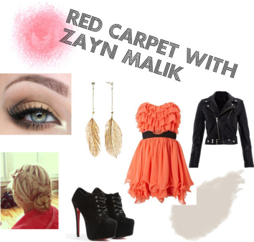 Red Carpet with Zayn Malik ~Paige