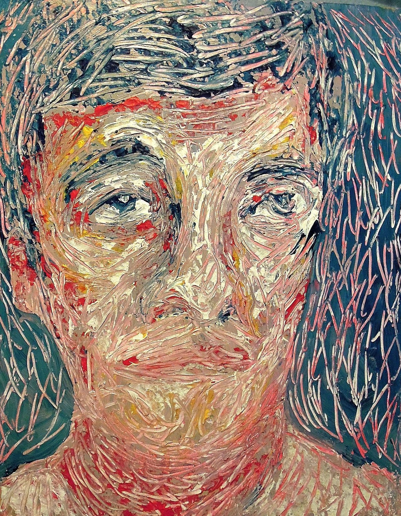 Self Portrait Acrylic on canvas2012