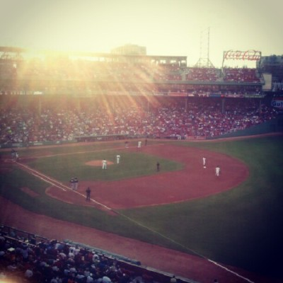 Red sox! (Taken with Instagram)