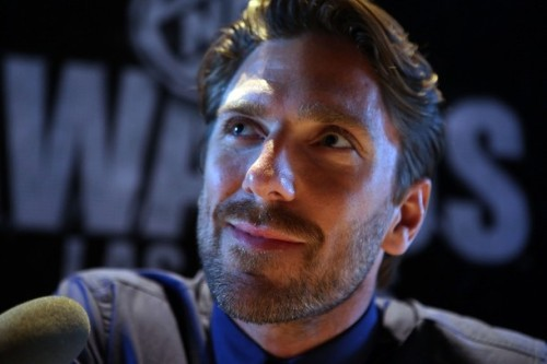 Let's just look at Henrik Lundqvist's beauty.
