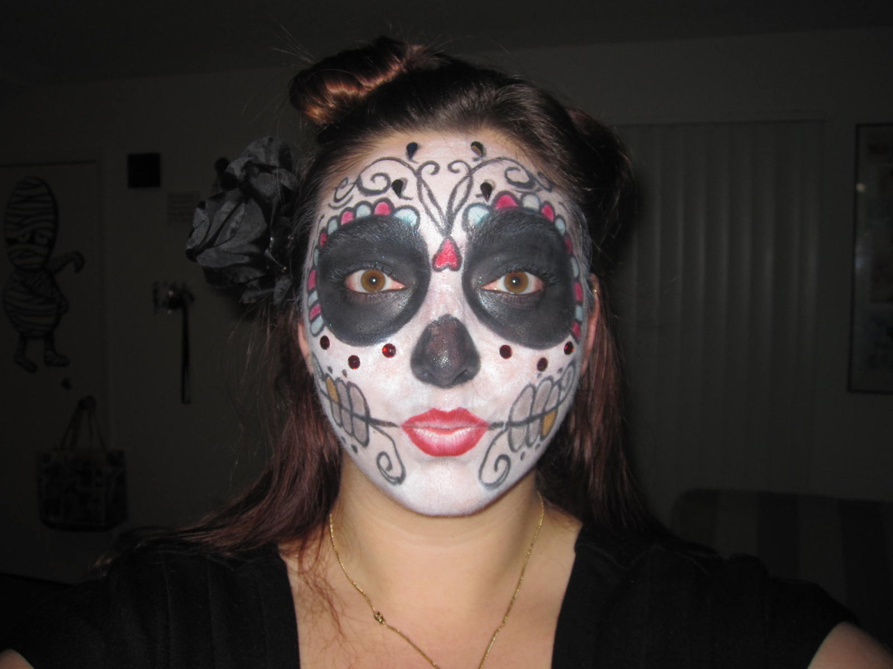 …Sugar Skull Erika… what happens when you leave me alone with a make-up box around my favorite time of year… These are just a few of my favorite things