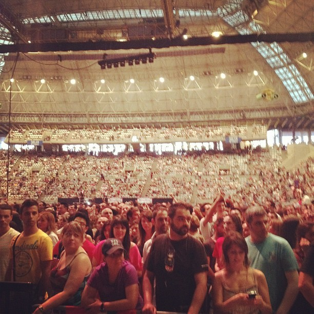 Shut up.  (Taken with Instagram at Palau Sant Jordi)