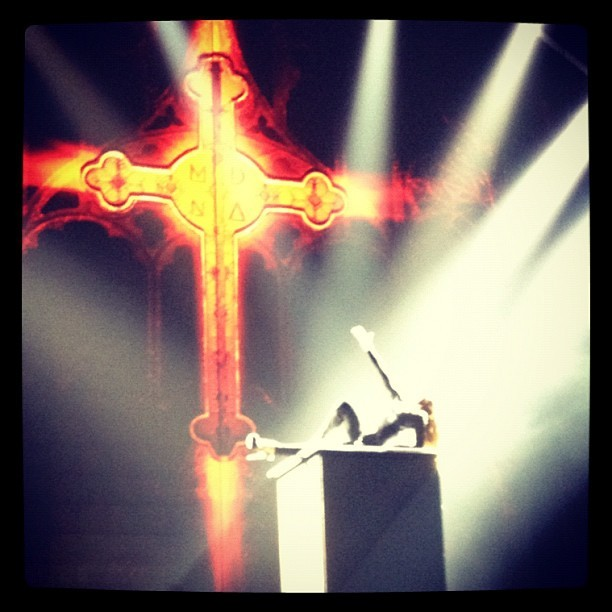 Madonna.   (Taken with Instagram)