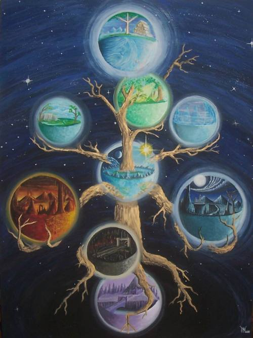 < 3 ONE OF OUR MANY WORLD TREES. <3