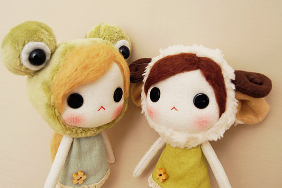 Molly the Frogy by Dolls garden