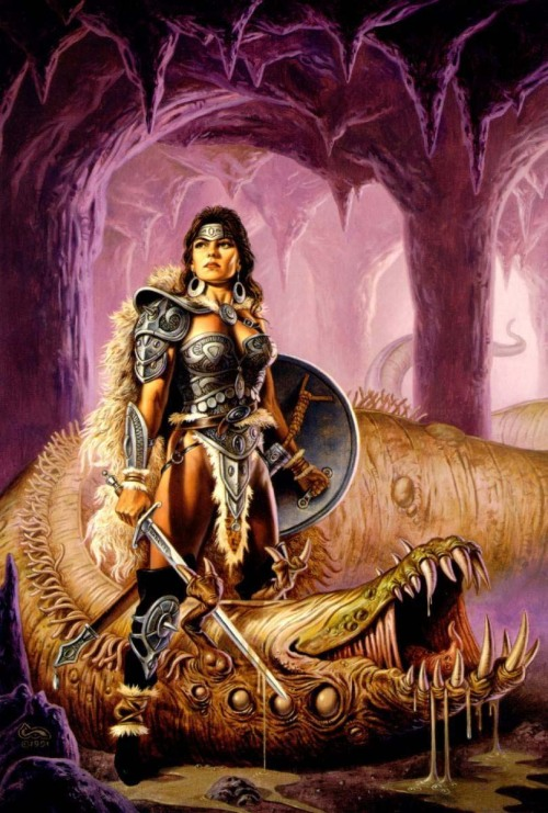 meanwhilebackinthedungeon:  — clyde caldwell