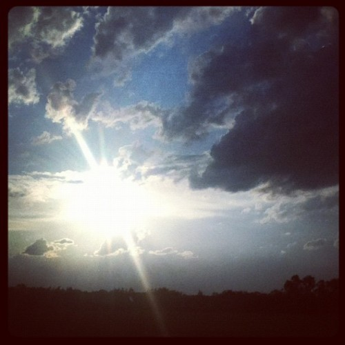 Sky's the limit!!  (Taken with Instagram)