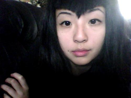 New bangs. I am not actually stoned.