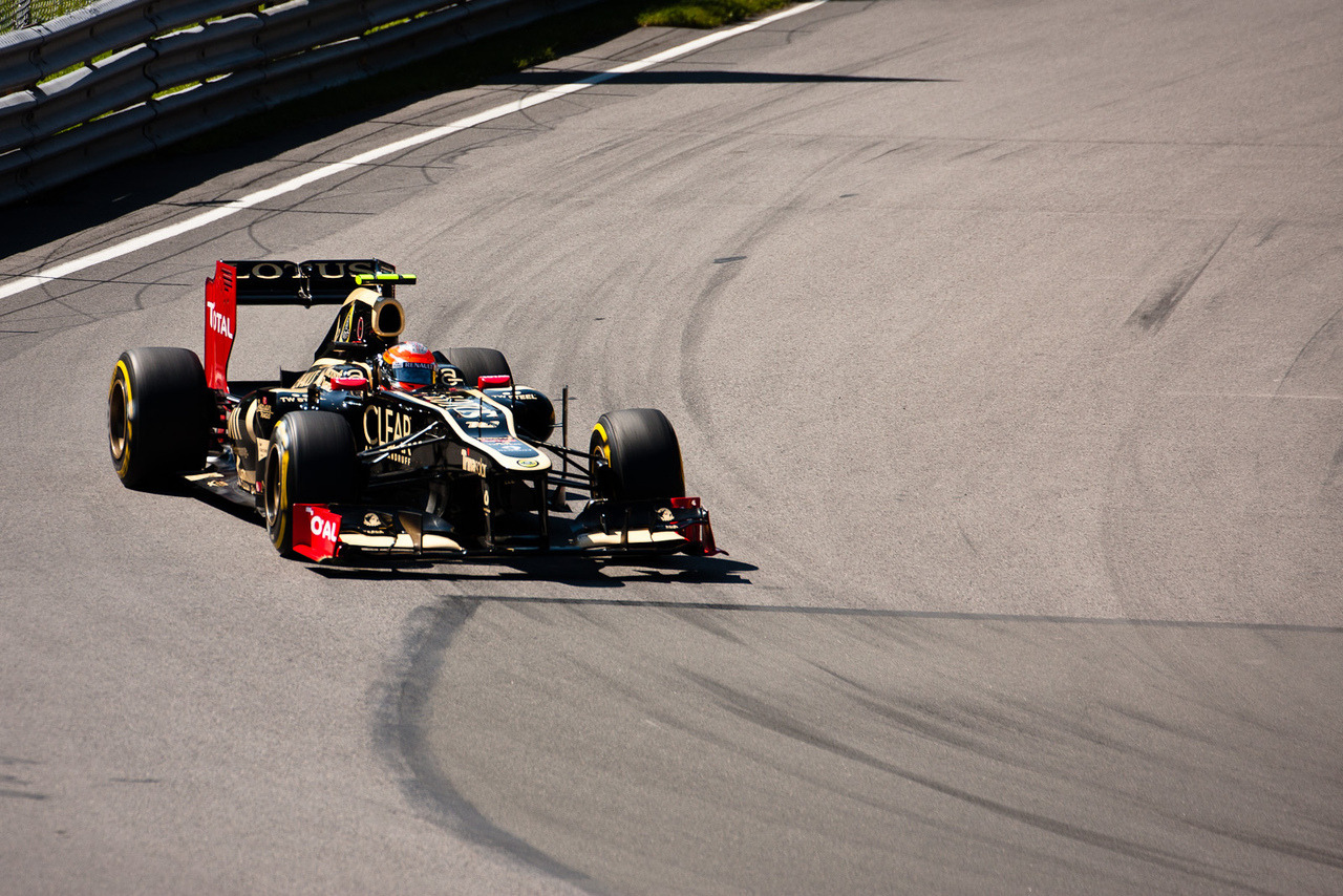 Grosjean in Practice by CaringForApathy on Flickr. First one from tonight's editing session.