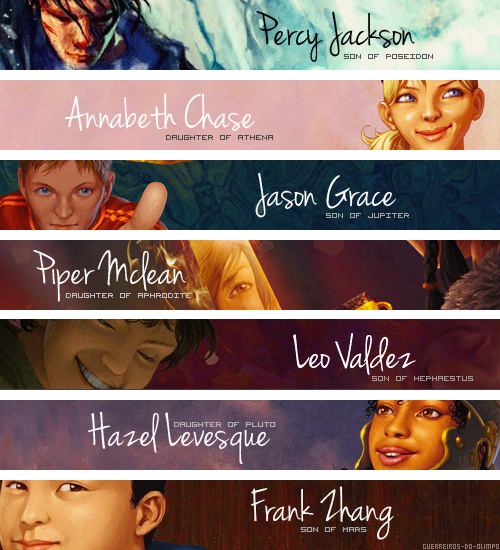 The Seven of the Prophecy.