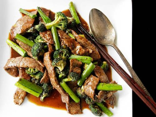 thecraving:  Chinese American Beef and Broccoli with Oyster Sauce