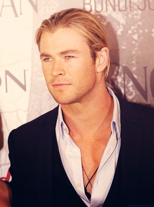 Chris Hemsworth at the Australian SWATH Premiere
