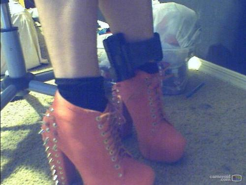 jenngofett:  actualdutchjew:  petal-metal:  OMG MY NEW SHOES CAME :3 ignore my ugly house arrest ankle bracelet. haha  ignore my ugly house arrest ankle bracelet  Hahah omfg. I went to her page and saw this  She is going on the run.