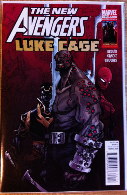 The New Avengers: Luke Cage (1 of 3):  Eric Canete
