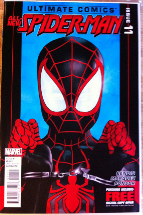 Ultimate Comics Spider-Man #11:  Kaare Andrews