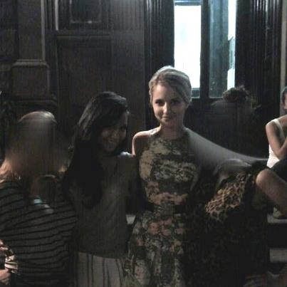 brittanakissed:  Naya and Dianna in NY