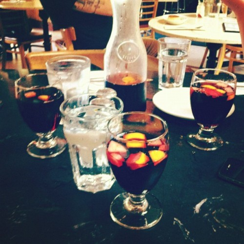 sangria for three (Taken with Instagram at Picaro Cafe)
