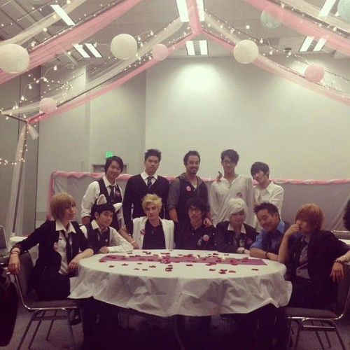 Host Club!! #cute #kawaii #hostclub #animaidcafe #animaid #am2 (Taken with Instagram)
