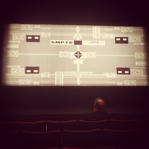 The things you usually never see on the big screen (Taken with Instagram)