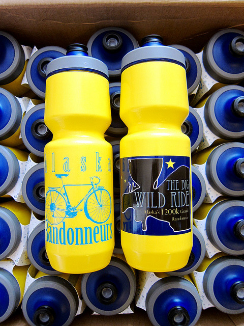 AK Randonneurs Purist Water Bottles by AK Rando on Flickr.