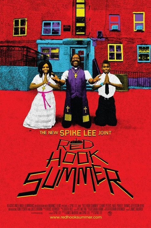 blackfashion:  Spike Lee's Red Hook Summer  The latest in Spike Lee's Chronicles of Brooklyn (which includes She's Gotta Have It, Do the Right Thing, Crooklyn, Clockers, and He Got Game), Red Hook Summer tells the story of Flik Royale, a sullen young boy from middle-class Atlanta who has come to spend the summer with his deeply religious grandfather, Bishop Enoch Rouse, in the housing projects of Red Hook. Having never met before, things quickly get off on the wrong foot as Bishop Enoch relentlessly attempts to convert Flik into a follower of Jesus Christ. Between his grandfather's constant preaching and the culture shock of inner-city life, Flik's summer appears to be a total disaster-until he meets Chazz Morningstar, a pretty girl his age, who shows Flik the brighter side of Brooklyn. Through her love and the love of his grandfather, Flik begins to realize that the world is a lot bigger, and perhaps a lot better, than he'd ever imagined.  Release date: August 10, 2012 in New York City theaters   It's so good