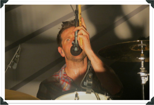 Keane at Sound Academy | June 19, 2012 Richard singing backing vocals on Perfect Symmetry via @serenityreine