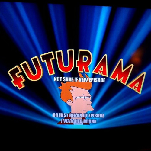 I think #futurama just divided by zero  (Taken with Instagram)