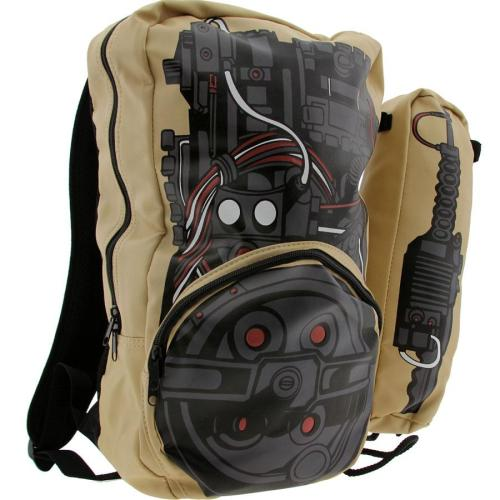 URMAHGAWD its a ghostbuster backpack! if there is any accessory that i get real geeked about its a really nice backpack. i love backpacks, maybe its because the best part of going back to school, while i was growing up, was picking out a new jansport. and rocking the hell out of that backpack for the whole year. then as i grew up i still bought a new back pack every year. i have a tried and true all back jansport. ive had a couple ogios and now a chrome messenger. but the new semester is coming and now i need something new. this is a character bag and i have my eye on it!