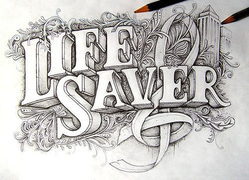 Typeverything.com - Life Saver by Joachim Vu.