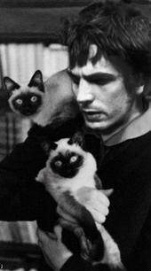 Syd Barrett. The company you keep, the size of their whiskers.
