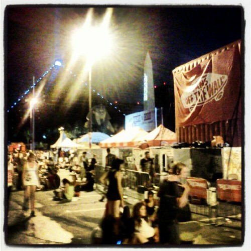 Finally cooling down in Vegas. #warpedtour  (Taken with Instagram)