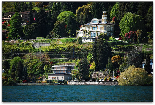 | ♕ |  summer villa - Lake Maggiore, Italy  | by © Noelle Smith