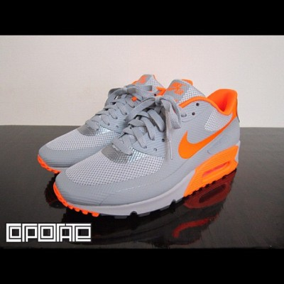 Nike Air Max 90 Hyperfuse Stealth Total Orange #nike #air #max #airmax #90 #hyperfuse #stealth #total #orange #swag #fashion #shoes #kicks #kickz #shoe #footwear #cool #fresh #fly #photography #illustration #graphic #picture #drawing (Taken with Instagram)