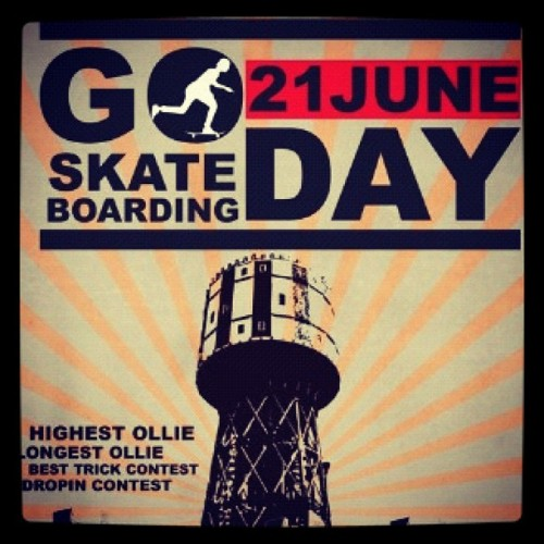 Happy go skate day!! #go #skate #day #2012  (Taken with Instagram)