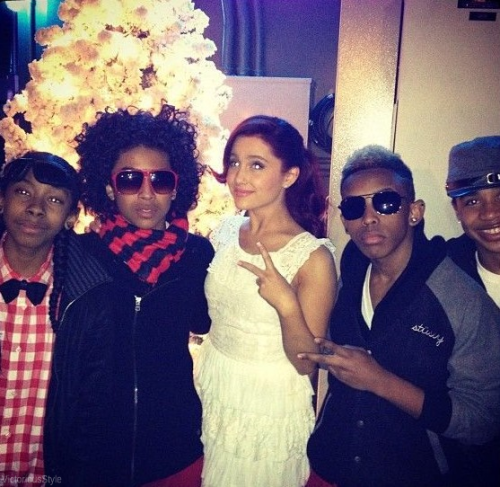 Ariana and Mindless Behavior!