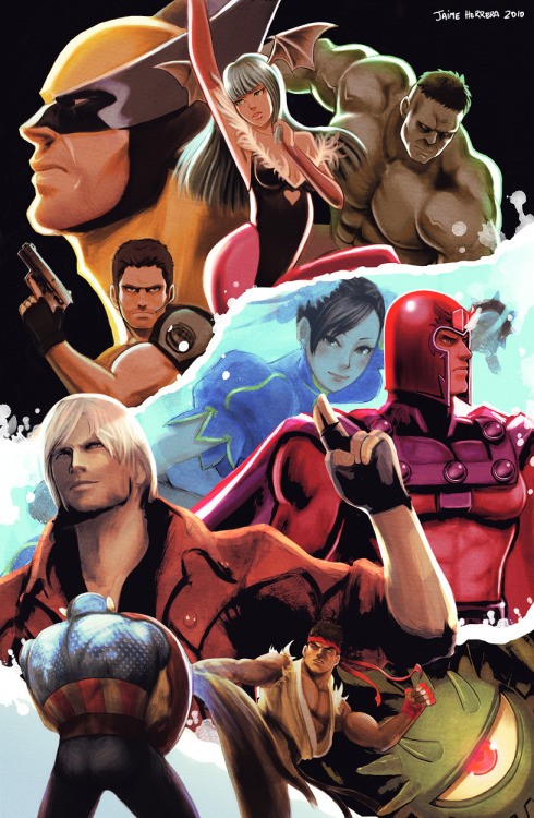 elirey88:  Marvel Vs. Capcom