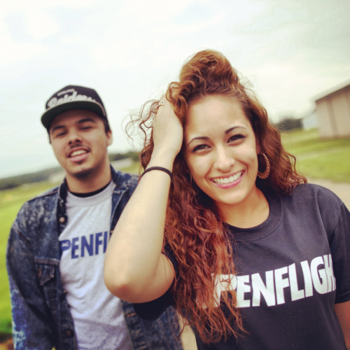 Marcky Goldchain and I. Photoshoot for Upenflight clothing Summer line.