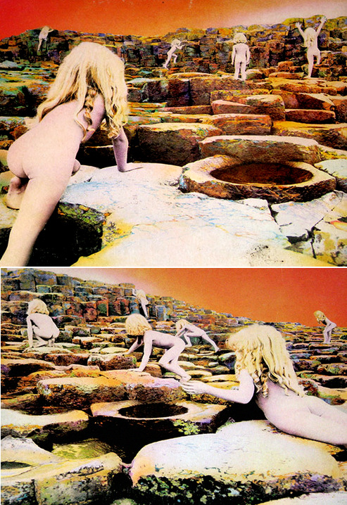 "whitesin:  Led Zeppelin's ""Houses of the Holy"" 1973"