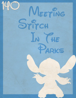 140: Meeting Stitch In The Parks