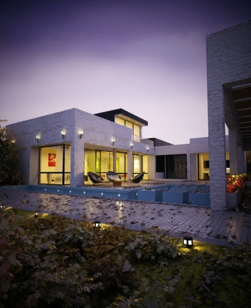 (via House with Pool Renders)