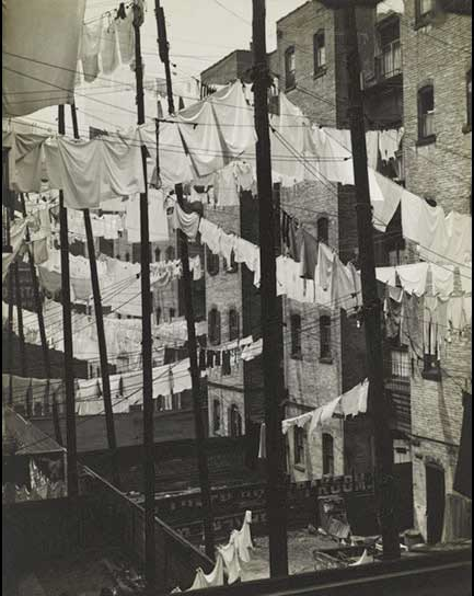 Consuelo Kanaga      Untitled (Tenements, New York City)      c.1937