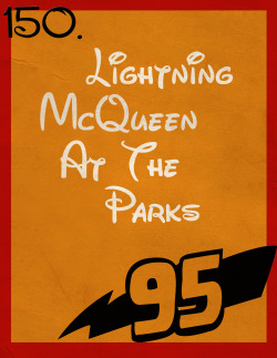 150: Lightning McQueen At The Parks