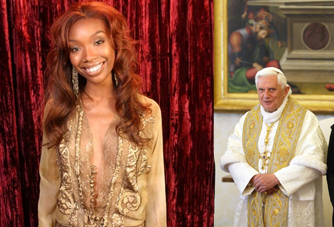 the pope draws inspiration from his favorite brandy look